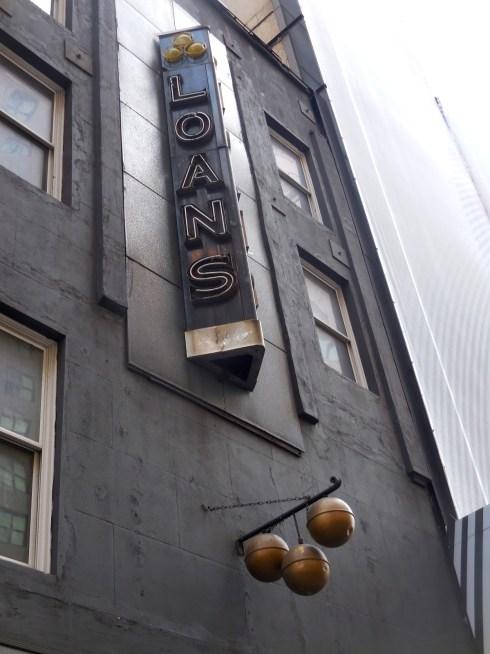 Pawnbroker sign NYC