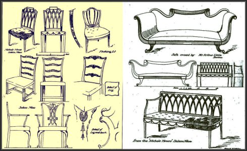 Colonial Seating collage