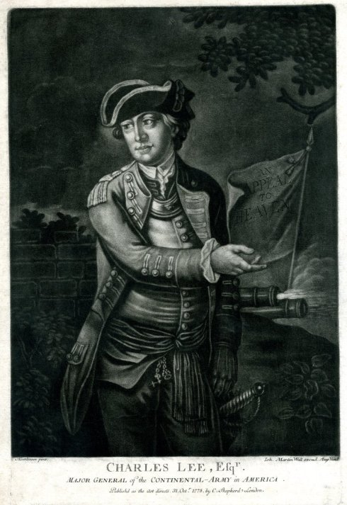 Rebel Officers Charles Lee BM