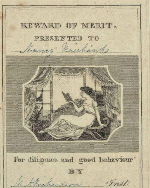 Reward of Merit 1842