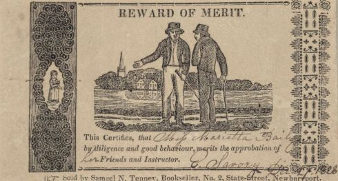 Reward of Merit ABE 6 1828