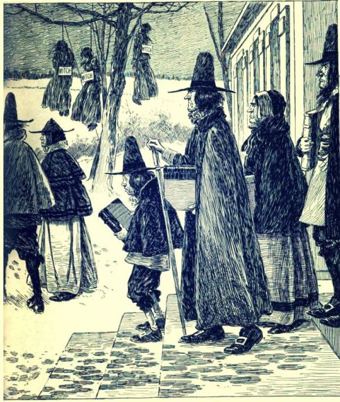 Puritans and Witches 1895