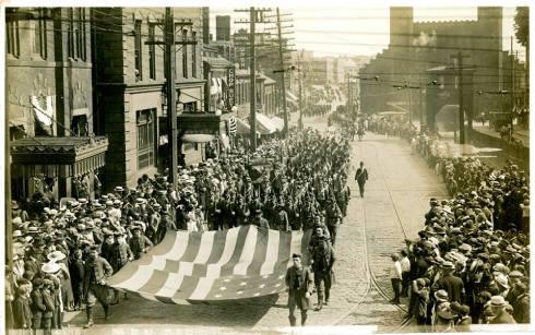 Salem World War 1 Armistice Parade