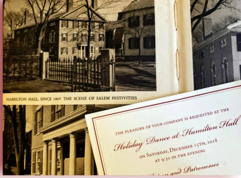 Hamilton Hall Invitations