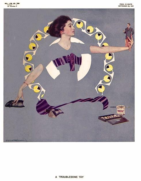 Life 1911-09-28 C. Coles Phillips Fade Away Women