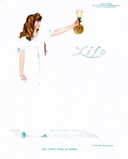 Life 1911-11-30 C. Coles Phillips Fadeaway