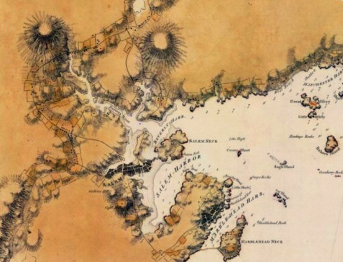 March Map 1776 2 Des Barres