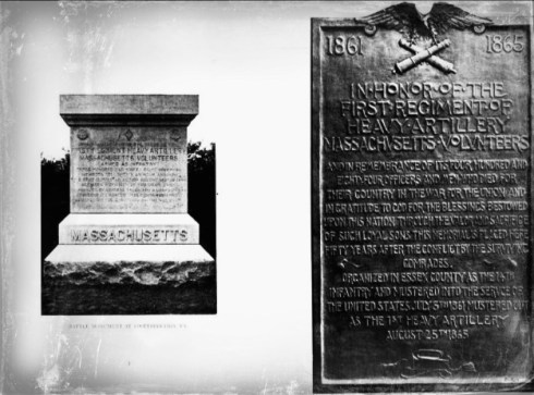 1st Regiment Monuments