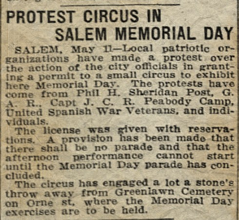 Memorial day 1923 BG May 12