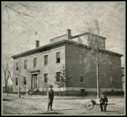 Crosby Normal School 1865 SSU