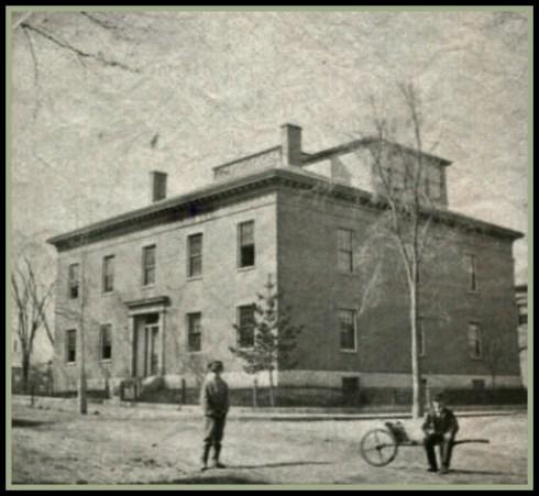 Crosby Normal School 1865 SSU