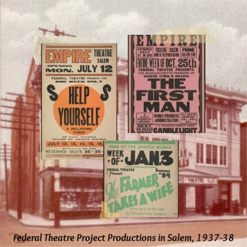 New Deal Theatre Collage