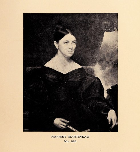 Harriet Martineau by Charles Osgood Catalogue of Portraits in Essex Institute (2)