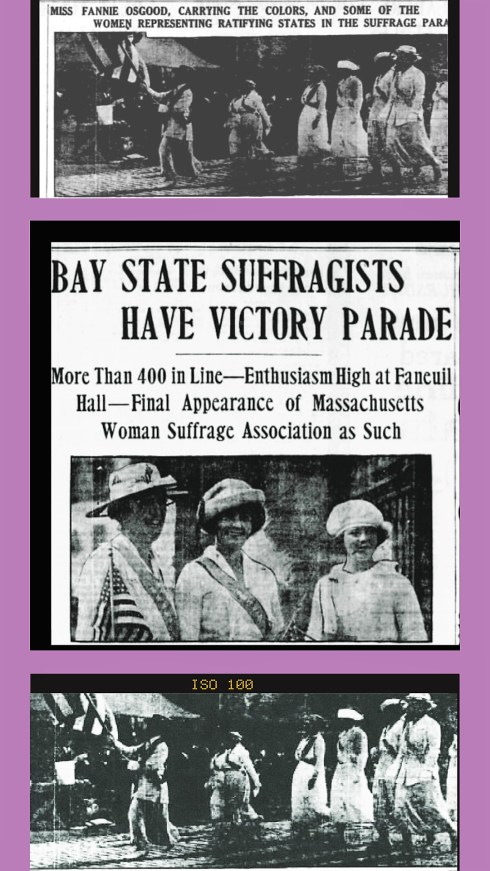 Suffrage Victory Parade
