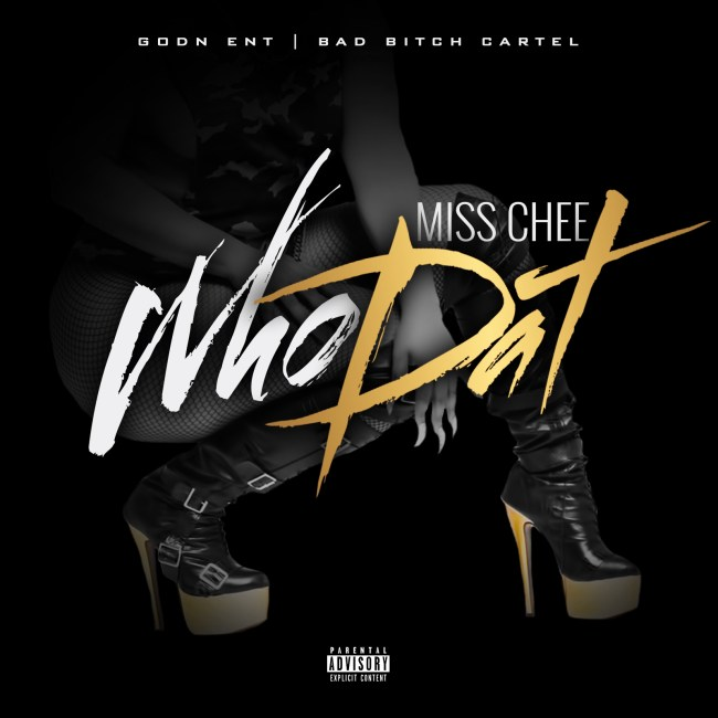 Miss Chee - Who Dat artwork
