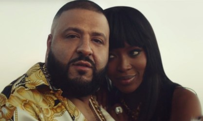 DJ Khaled's New Commercial w/ Naomi Campbell