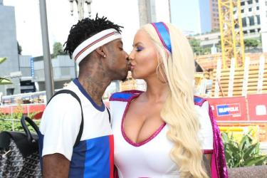 21 Savage Supports Amber Rose's SlutWalk