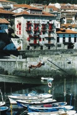 Mundaka harbour by Street Talks Savvy, Spanish Slang