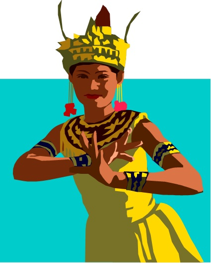 Balinese dancer as seen in Indonesian Slang by Street Talk Savvy