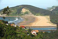 Rodiles Beach at Villaviciosa, Principado de A...