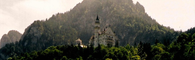 Neuschwanstein Castle, by Street Talk Savvy as found in German Slang Phrases