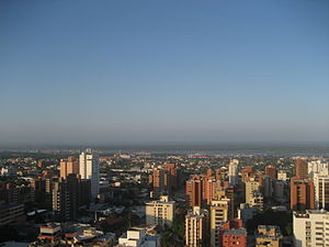 City of Barranquilla, Colombia.