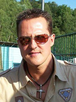 Deutsch: Michael Schumacher, deutscher Rennfah...