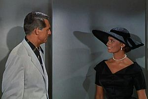 English: Cary Grant & Sophia Loren in Houseboa...