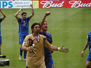 English: Gianluigi Buffon is an Italian footba...
