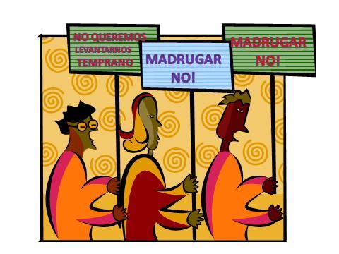 Madrugar No!