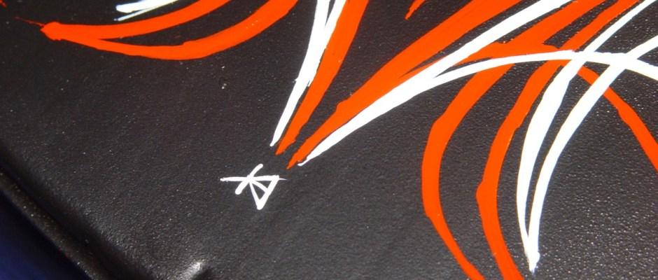 The classic KA signature completes job.