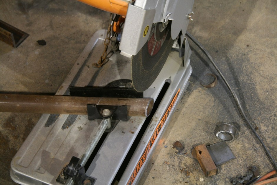 22. We used a chopsaw, but this could be done with sawzall, it just takes a lot longer.