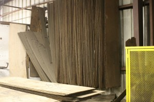 3.There are thousands of these plywood templates that each bumper is compared to. It is simple but it works, the guys who do the straightening work are very efficient and skilled.