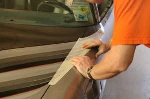 16.The fender feathers must match up to the hood feathers precisely to be accurate.
