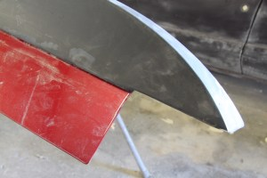 10.There are some alignment features to match up to the deck lid. There is a little room for error here, but not much.