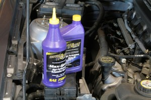 02.Not only is it better for your engine, Royal Purple synthetic oil will free up some horsepower too. We use it in our engines, transmissions, and as well as the synthetic gear oil for manual trannys and rear ends too. The gear oil still smells horrible though, why can't they add a cherry sent to that stuff?