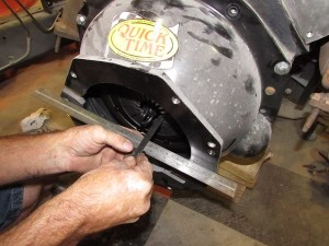 Hydraulic throwout bearings need to be shimmed to set the proper depth in order for them to function properly.