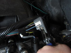 """Using a pair of auto-strippers, a ¾"""" section of the wire was stripped. We used a razor blade to remove the stripped insulation completely."""
