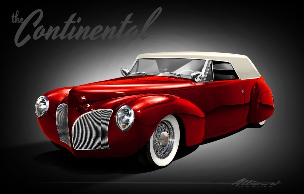 Our rendering, created by Jeff Allison shows the subtle styling of the classic Kustom era.