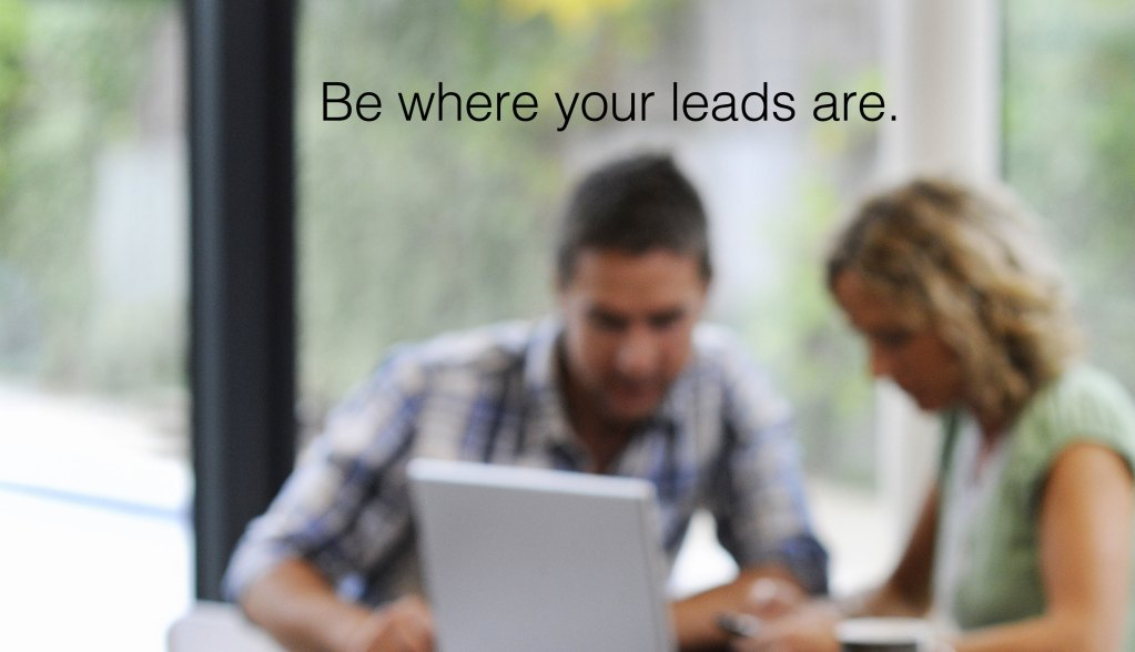 tech savvy real estate lead generation
