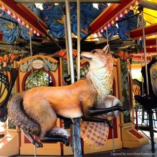 merry go round - Christopher Columbus Waterfront park, boston