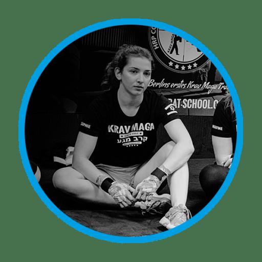 Sophie Krav Maga Instructor Trainee Functional Fitness Streetwise Academy Berlin