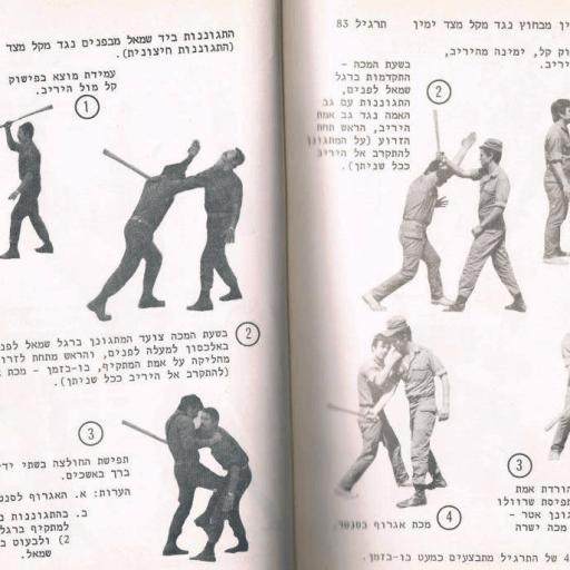 Krav Maga Manual Original Streetwise Academy Hebrew Berlin