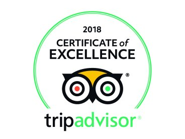 Streetwise New York 2018 Tripadvisor Certificate of Excellence