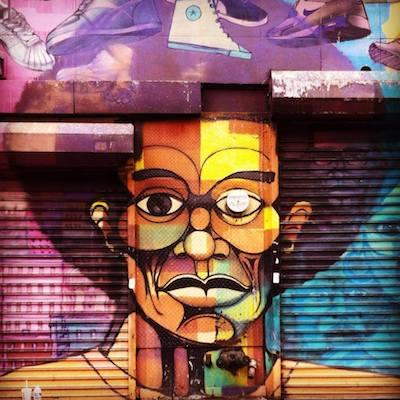 Manhattan Private Walking Tour. Graffiti