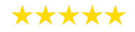 5 star rating for Streetwise Taxis, a taxi company based in Coningsby
