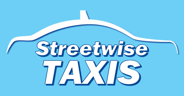 Logo for Streetwise Taxis, a taxi company based in Coningsby