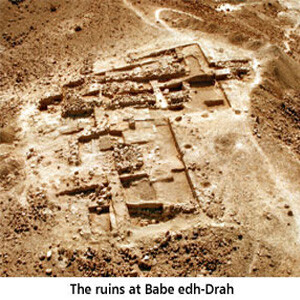 Ruins of Bebe Edh-Drah - Archaeology
