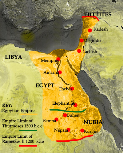 ANCIENT MYTHOLOGIES EGYPTIAN Street Witnessing - Map of egypt old kingdom