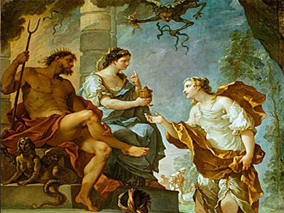 Hades and Psyche - Greek Mythologies